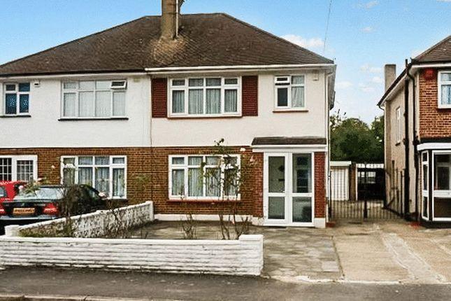 Thumbnail Semi-detached house for sale in Brookfield Crescent, Kenton, Harrow