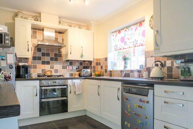 Thumbnail Link-detached house for sale in Castle Brooks, Framlingham, Woodbridge