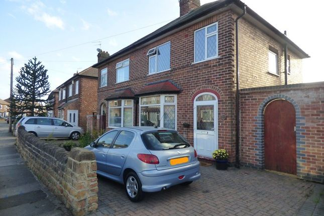 Thumbnail Semi-detached house to rent in Leyton Crescent, Beeston Rylands
