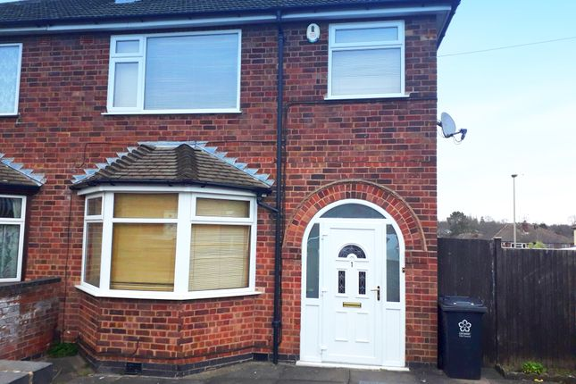 Semi-detached house to rent in Oakdene Road, Knighton, Leicester