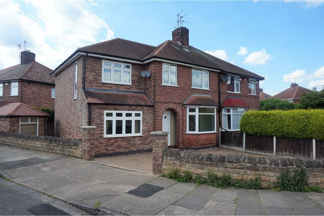 4 bed semi-detached house for sale in East Crescent, Nottingham