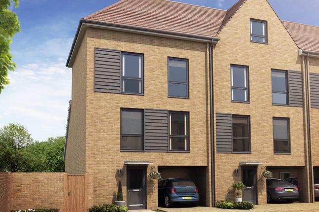 "Thumbnail End terrace house for sale in ""Herringbone I"" at Hackbridge Road, Wallington"