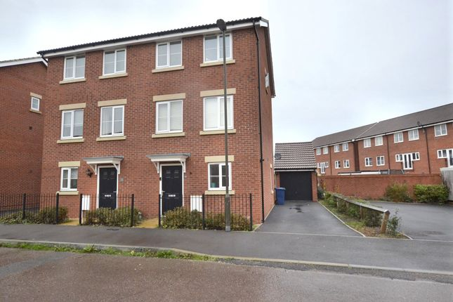 Thumbnail Terraced house for sale in Yew Tree Road, Brockworth, Gloucester