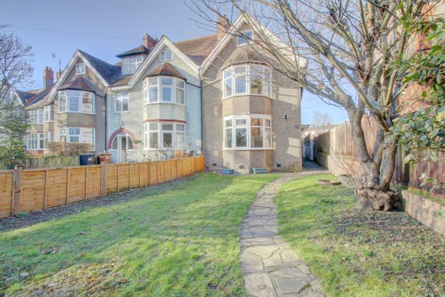 Thumbnail End terrace house for sale in Wellingborough Road, Northampton