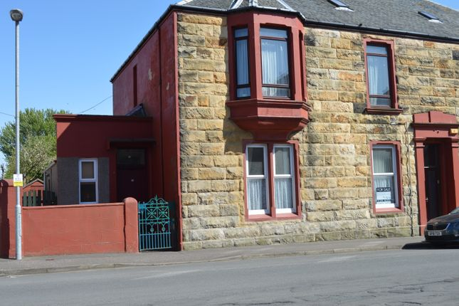 Thumbnail Flat for sale in Springvale Street, Saltcoats