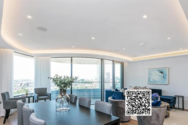 Thumbnail Flat for sale in Tower Two, The Corniche, 23 Albert Embankment, London