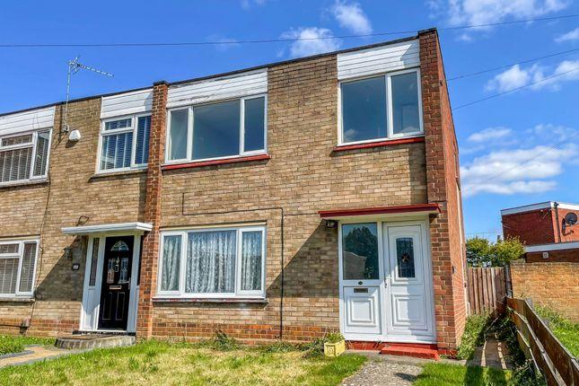 Thumbnail End terrace house to rent in Swinburne Road, Wellingborough