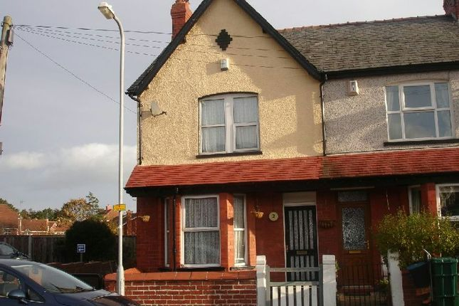 Thumbnail End terrace house to rent in Carlton Road, West End, Colwyn Bay