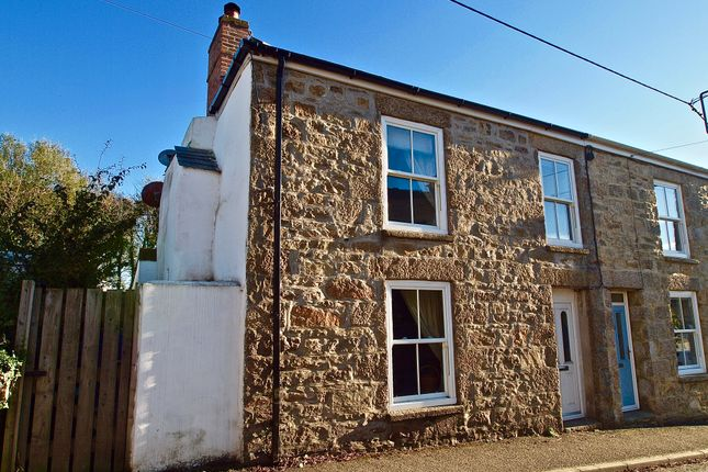 Thumbnail End terrace house for sale in Fore Street, Barripper, Camborne