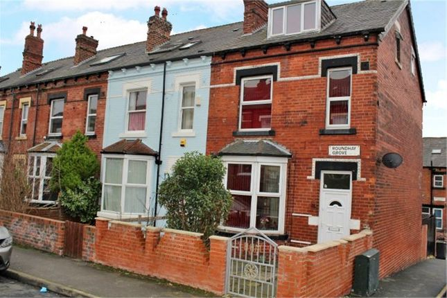 Thumbnail End terrace house for sale in Roundhay Grove, Leeds, West Yorkshire