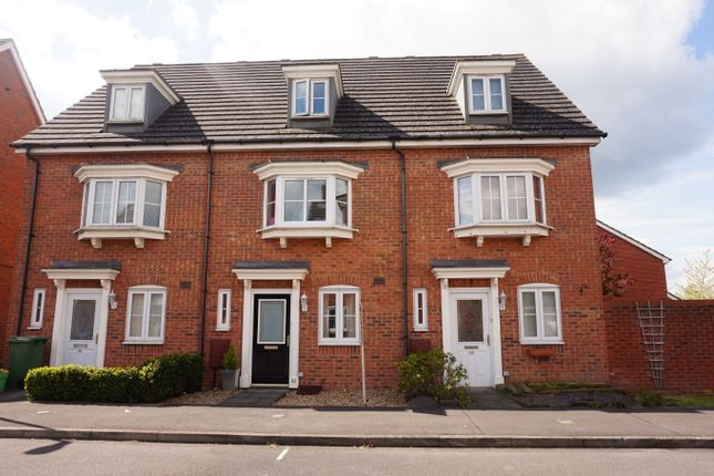 Thumbnail Terraced house to rent in Battalion Way, Thatcham