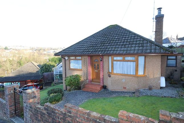 Thumbnail Detached bungalow for sale in Valley View Road, Higher Compton, Plymouth, Devon