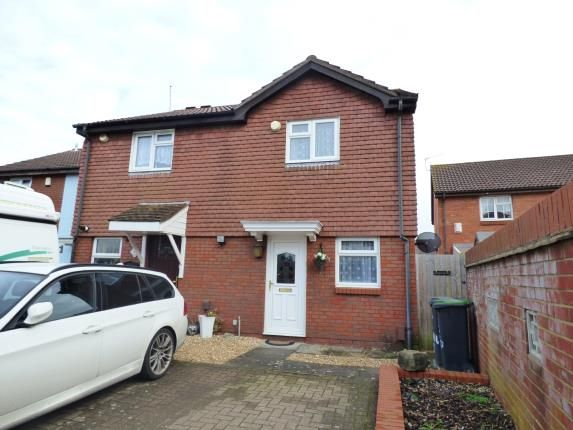 Thumbnail Semi Detached House For Sale In Hardway Gosport Hampshire