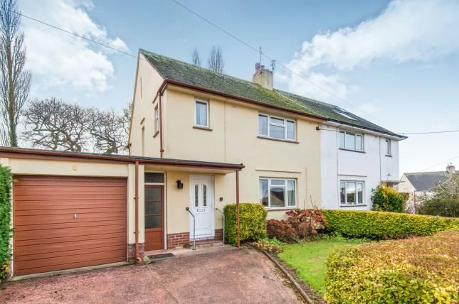 Thumbnail Semi-detached house for sale in Woodbury, Exeter, Devon