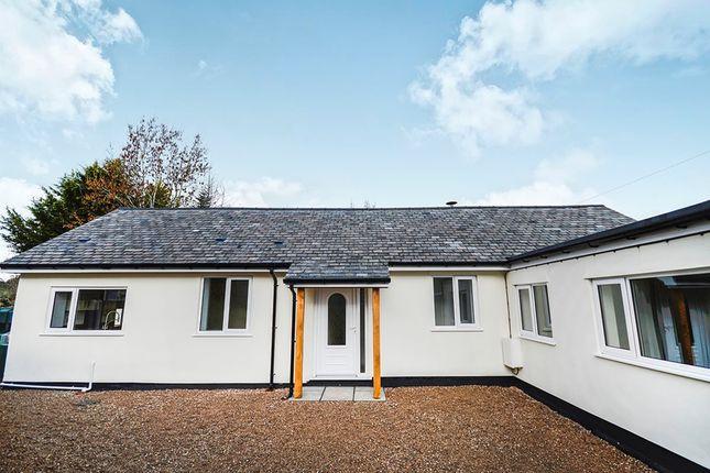 Thumbnail Bungalow for sale in Grange Bungalow, Morton, Oswestry, Shropshire