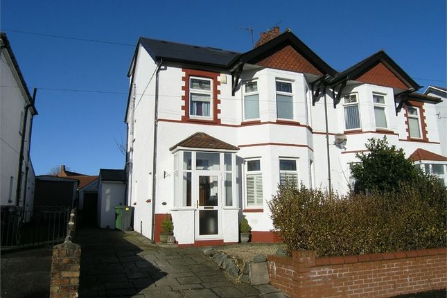 Thumbnail Semi-detached house for sale in Rhydypenau Road, Cyncoed, Cardiff