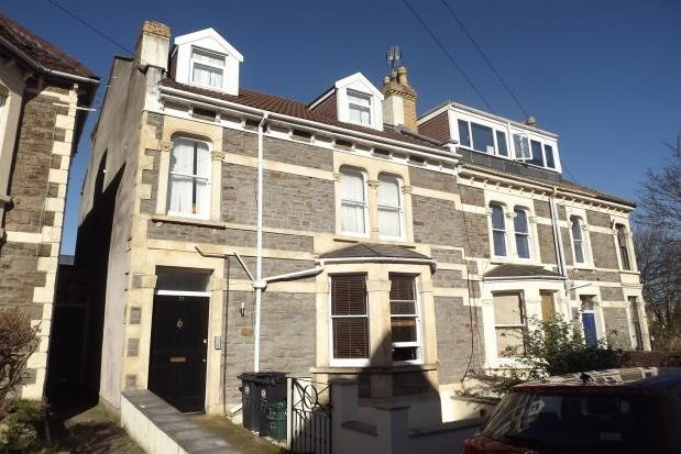 Thumbnail Flat to rent in Waverley Road, Redland, Bristol