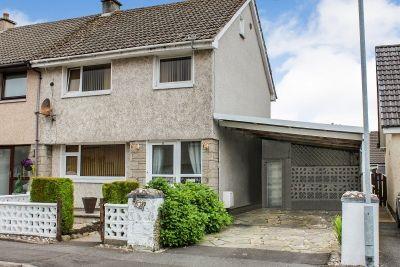 Thumbnail Semi-detached house for sale in Dunkitterick Drive, Minnigaff, Newton Stewart