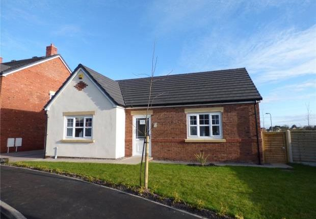 Thumbnail Detached bungalow for sale in Plot 21 Crummock, Harvest Park, Silloth, Wigton