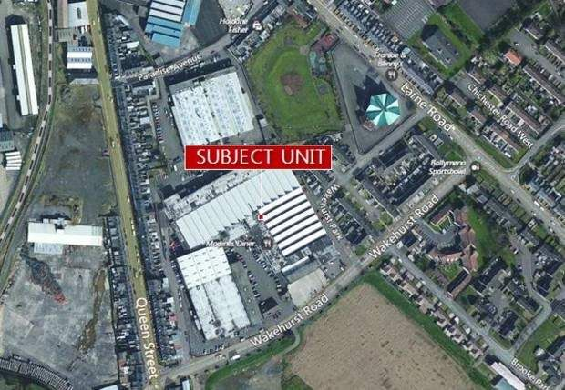 Thumbnail Warehouse to let in Unit Wakehurst Industrial Estate, Wakehurst Road, Ballymena, County Antrim