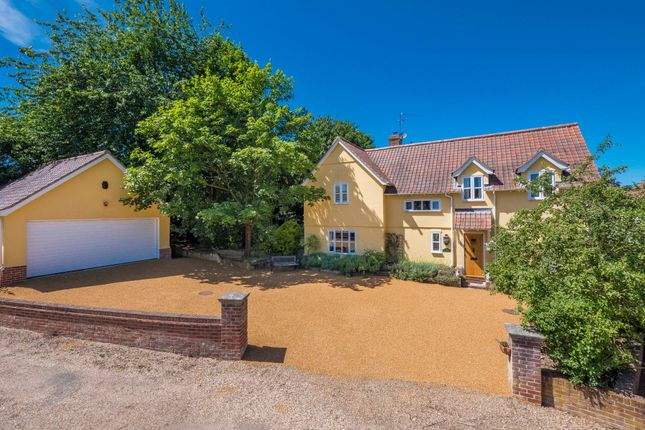 Thumbnail Detached house for sale in Wetherden, Stowmarket, Suffolk