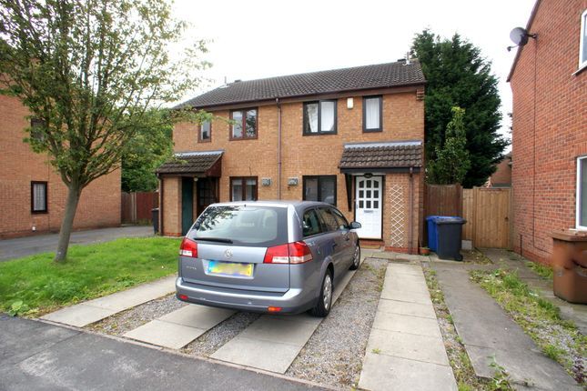 3 bed semi-detached house to rent in Lathbury Close, Oakwood, Derby DE21