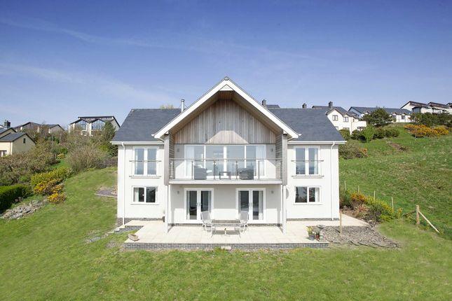 Thumbnail Detached house for sale in Hillside Park, Aberdyfi, Gwynedd