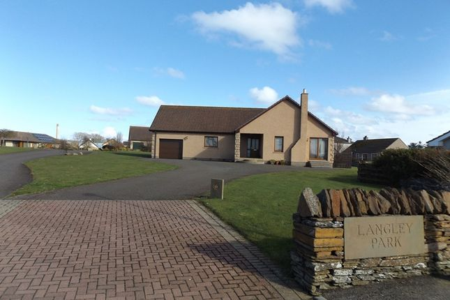 Thumbnail Detached bungalow for sale in Langley Park, Wick