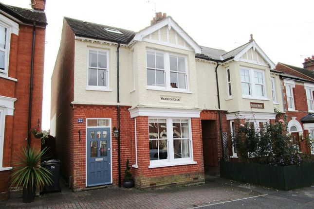 Thumbnail Semi-detached house for sale in Broom Hill Road, Ipswich