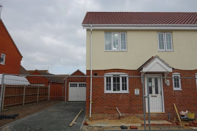 Thumbnail Semi-detached house for sale in Heritage Green, Kessingland, Lowestoft