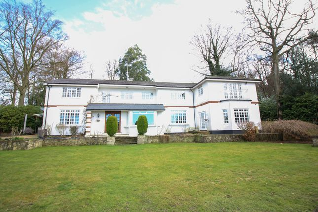 Thumbnail Detached house to rent in Longcross Road, Longcross, Chertsey