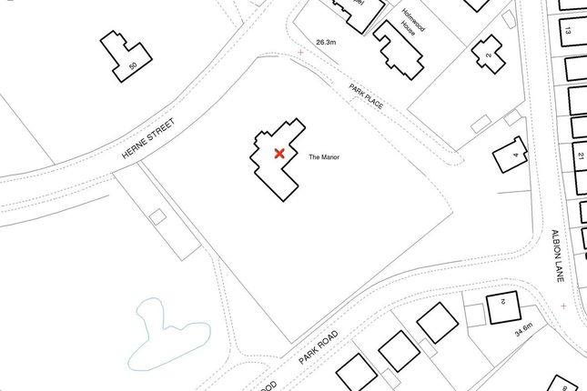 Thumbnail Land for sale in Park Place, Herne Bay