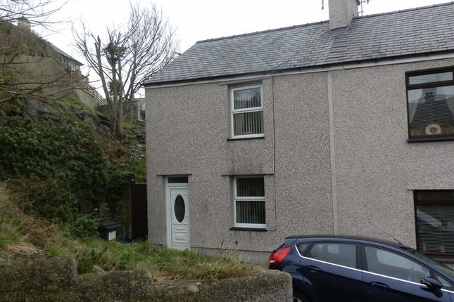 Thumbnail End terrace house to rent in Cecil Street, Holyhead, Ynys Môn