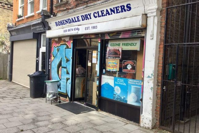 Thumbnail Retail premises for sale in Rosendale Road, London