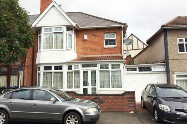 Thumbnail Semi-detached house for sale in Eileen Road, Birmingham, West Midlands