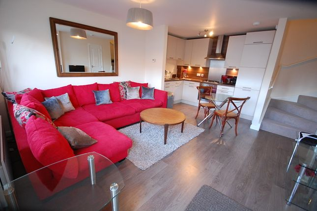 Thumbnail Terraced house to rent in Bellfield View, Kingswells, Aberdeen