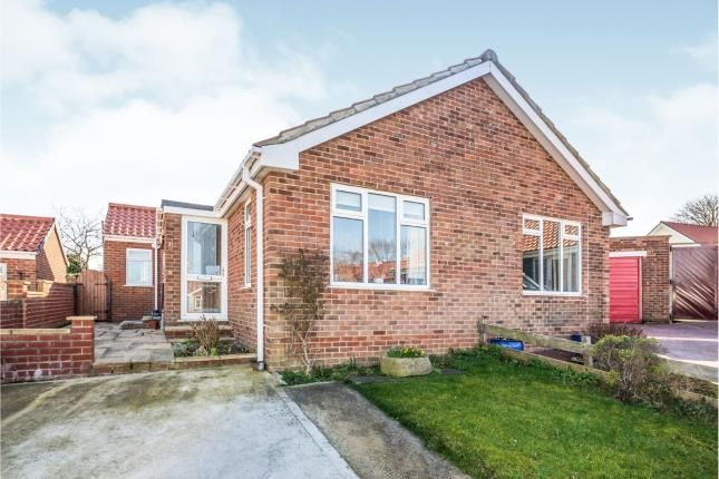 Thumbnail Bungalow for sale in Bracken Close, Whitby, North Yorkshire, .