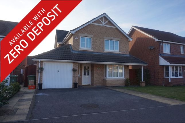 Thumbnail Detached house to rent in Lauridson Close, Grimsby