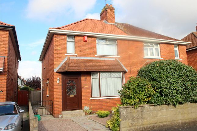 Thumbnail Semi-detached house for sale in Gerald Road, Ashton, Bristol