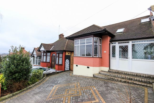 Thumbnail Semi-detached bungalow for sale in Sunset Avenue, London