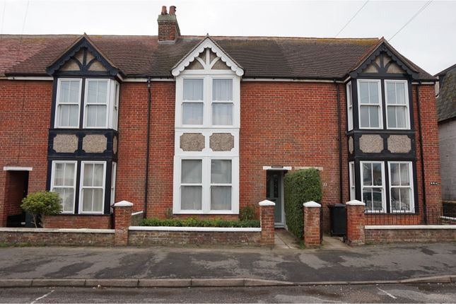 Thumbnail Terraced house for sale in Church Road, Selsey