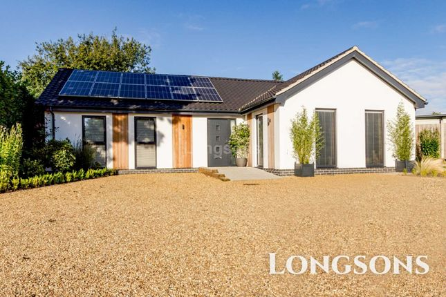 Thumbnail Detached bungalow for sale in Mill Street, Necton