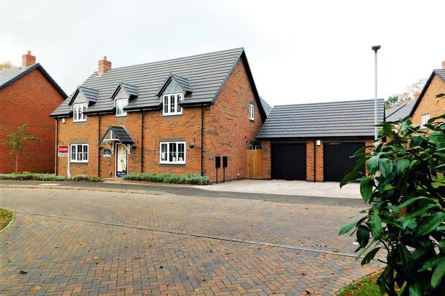 Thumbnail Detached house for sale in Manor Grove, Creswell Manor, Stafford