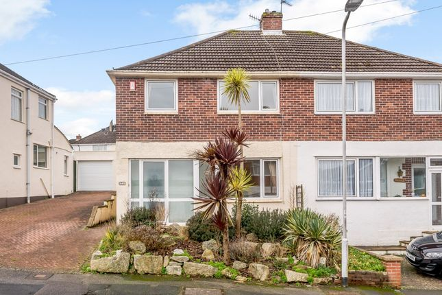Thumbnail Semi-detached house for sale in Lynwood Avenue, Plymouth, Plymouth