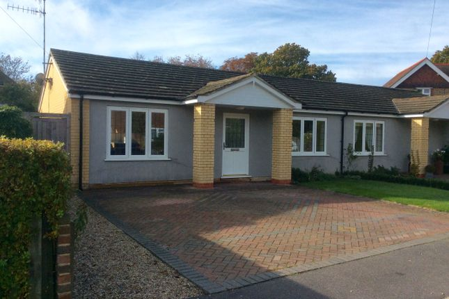 Thumbnail Semi-detached bungalow to rent in Craig Close, Crowhurst, Battle