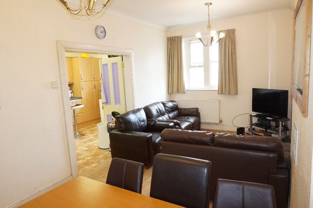 Thumbnail Town house to rent in Tavistock Place, North Hill, Plymouth