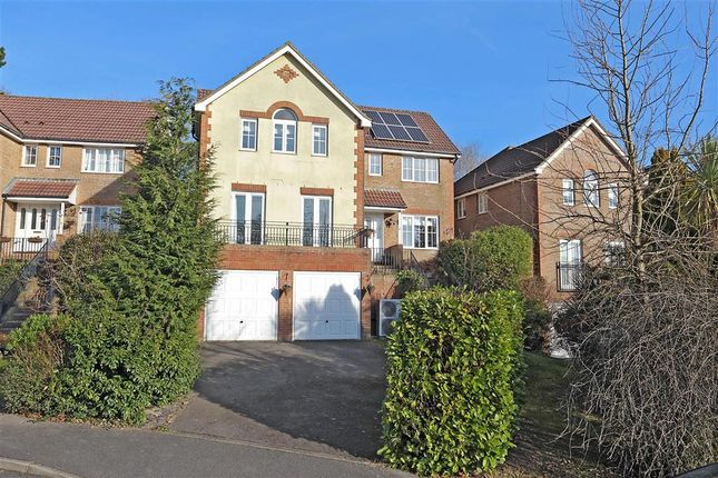 Thumbnail Detached house for sale in Lincoln Way, Crowborough, East Sussex