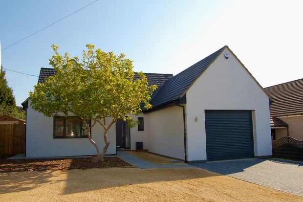 Thumbnail Detached house for sale in Glenville, Spinney Hill, Northampton