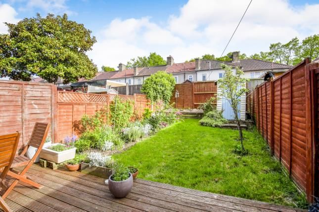 Garden of Ilfracombe Road, Bromley, Kent, Uk BR1