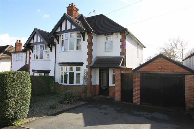 Thumbnail Semi-detached house for sale in Devonshire Avenue, Allestree, Derby